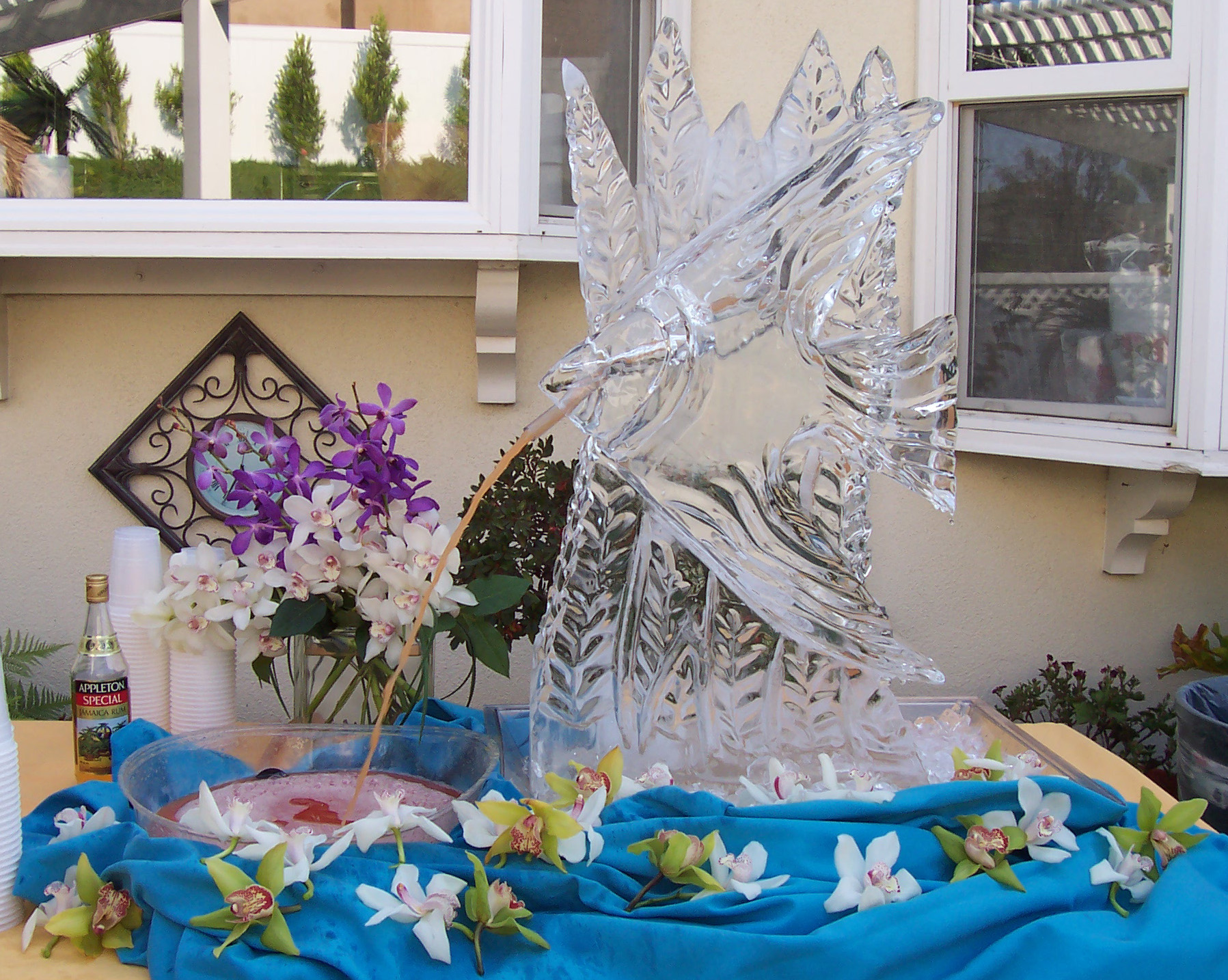Images In Ice Performance Ice Carving